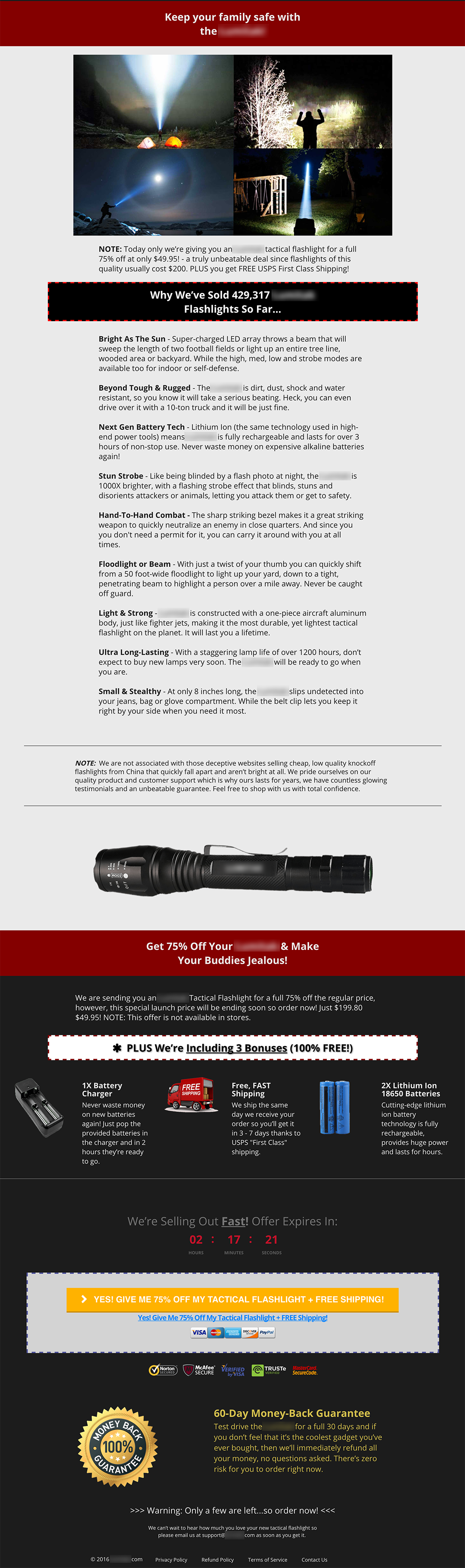 Tactical-Flashlight-Landing-Page-2nd-Half